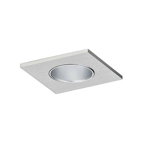 "CSL Eco-Downlight 2"" Haze Reflector Mini Satin Square Trim"