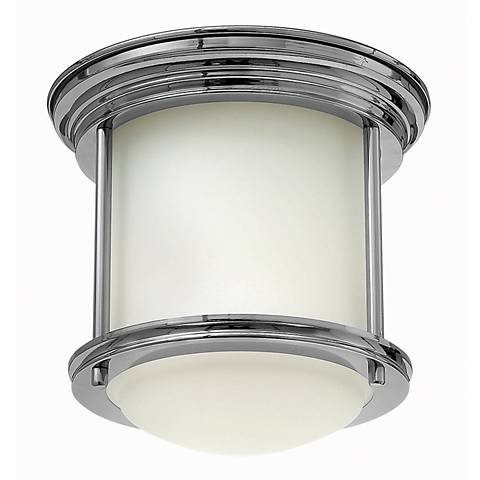 "Hinkley Hadley 7 3/4"" Wide Chrome Ceiling Light"