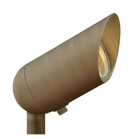 Hinkley 60 Degree Bronze 3 Watt LED Landscape Spotlight