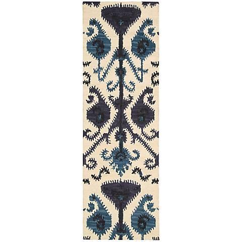 Nourison Siam SIA02 Beige Wool Area Rug