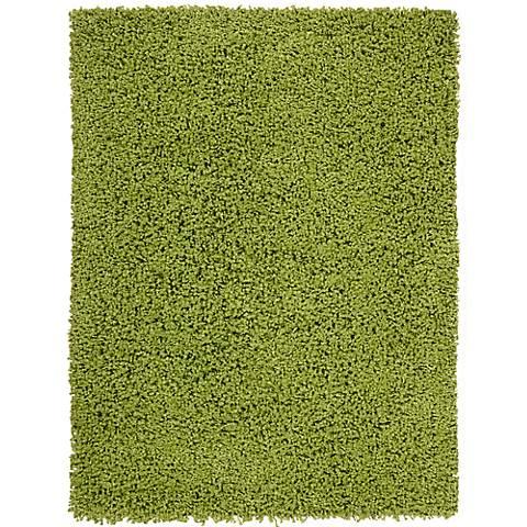Nourison Zen ZEN01 Wasabi Shag Area Rug