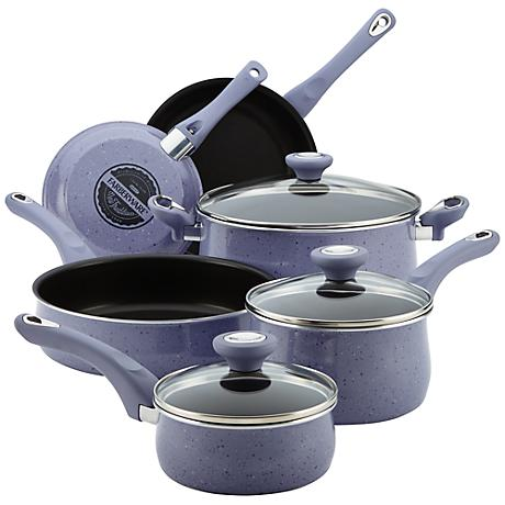 Farberware New Traditions 12-Piece Speckled Cookware Set