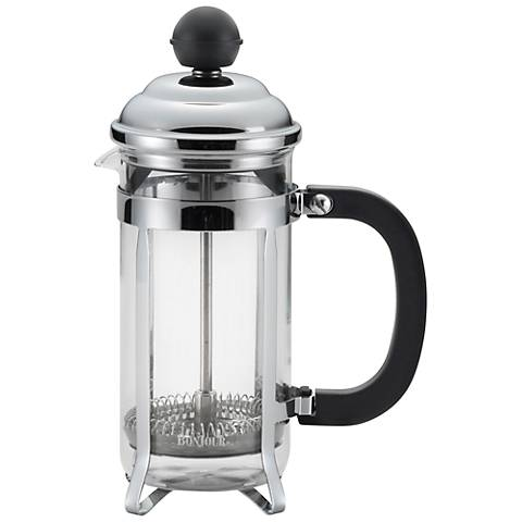 BonJour Coffee Bijoux Black 3-Cup French Press
