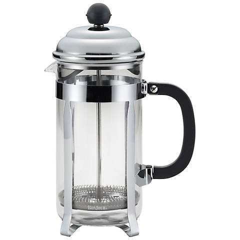 BonJour Coffee 8-Cup Bijoux Black French Press