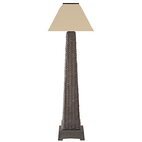 Bali Java Indoor-Outdoor Cordless Solar Powered Floor Lamp