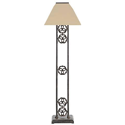 Renaissance Bronze Indoor-Outdoor Cordless Solar Floor Lamp