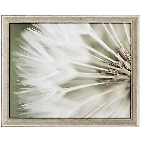 "Dandelion IV 32"" Wide Framed Wall Art"