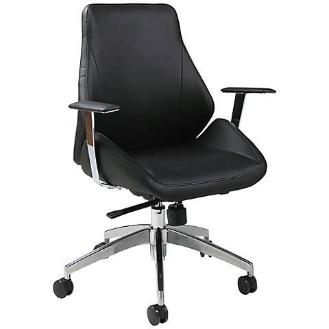 Impacterra Isobella Black Adjustable Office Chair