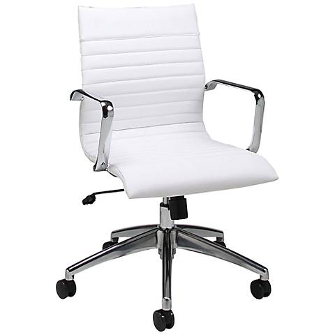 Impacterra Janette Ivory Adjustable Office Chair