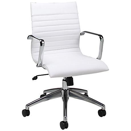 Impacterra Janette Ivory Adjustable Office Chair