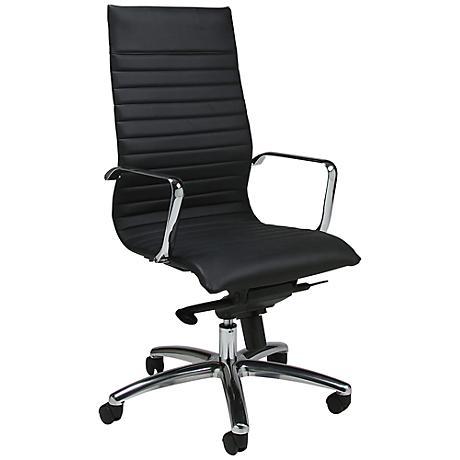 Impacterra Kachina Black Adjustable Office Chair