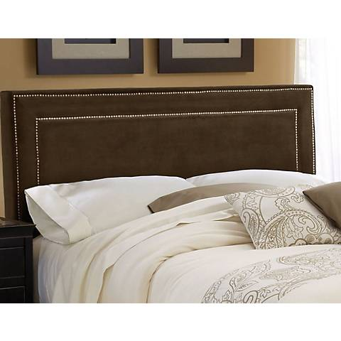 Hillsdale Amber Chocolate Fabric Headboards