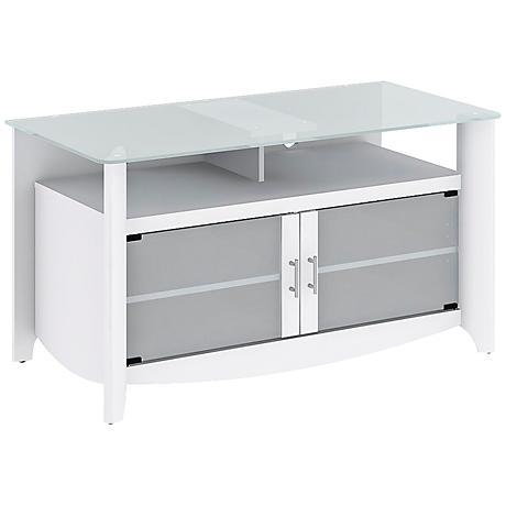 Aero Pure White Versatile TV Stand