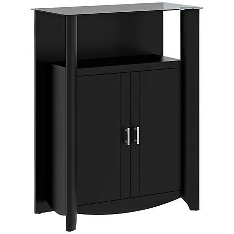 Aero 2-Door Classic Black Medium Library Storage