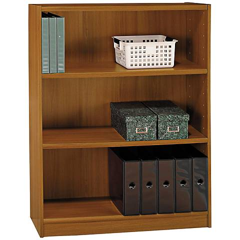 Universal Royal Oak 3-Shelf Bookcase