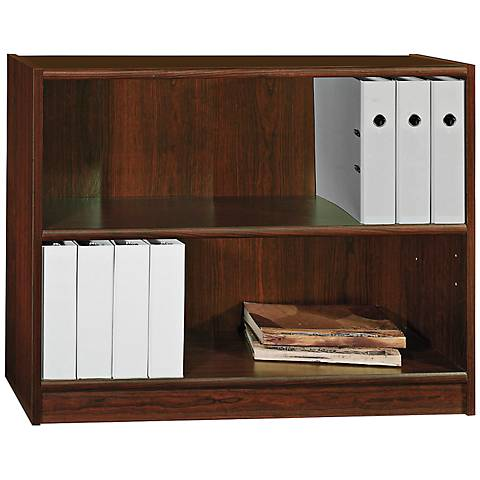 Universal Vogue Cherry 2-Shelf Bookcase