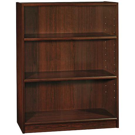 Universal Vogue Cherry 3-Shelf Bookcase