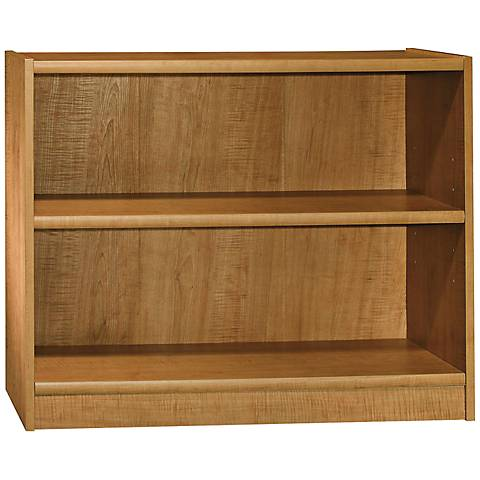 Universal Snow Maple 2-Shelf Bookcase
