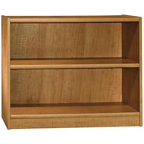 Universal Snow Maple 2-Shelf Bookcase