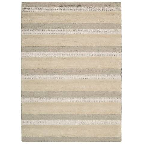 Calvin Klein Sequoia SEQ01 Ash Wool Area Rug