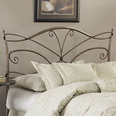 Papillon Brushed Bronze Duo Panel Headboards