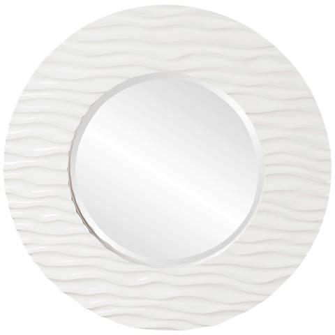 "Howard Elliott Broadway 39"" Round Wall Mirror"