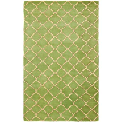 Safavieh Chatham CHT935B Green Wool Area Rug