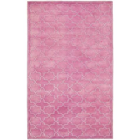 Safavieh Chatham CHT937D Pink Wool Area Rug
