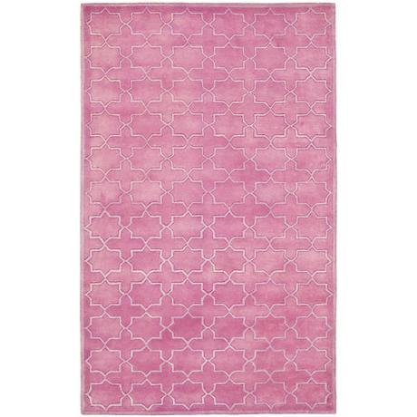 Safavieh Chatham CHT937D Pink Wool Area Rug