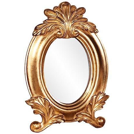"Howard Elliott Countess 8"" x12"" Table Top Makeup Mirror"
