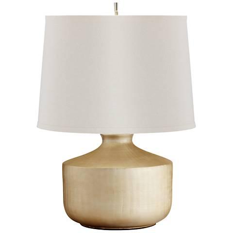 Titanium Love Silver Ceramic Table Lamp