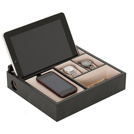 Mele & Co Rory Java Wooden Charging Valet