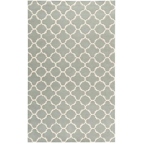 Safavieh Chatham CHT717E Grey/Ivory Wool Rug