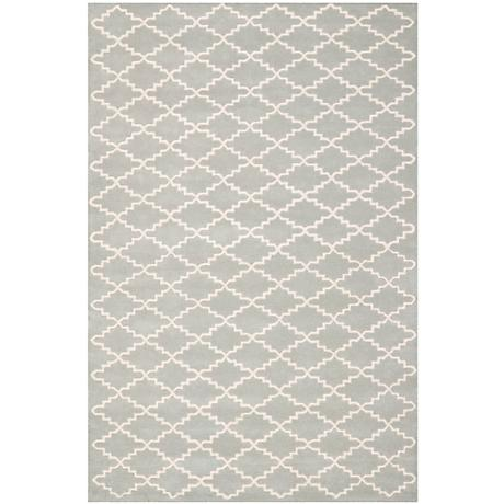 Safavieh Chatham CHT721E Grey/Ivory Wool Rug