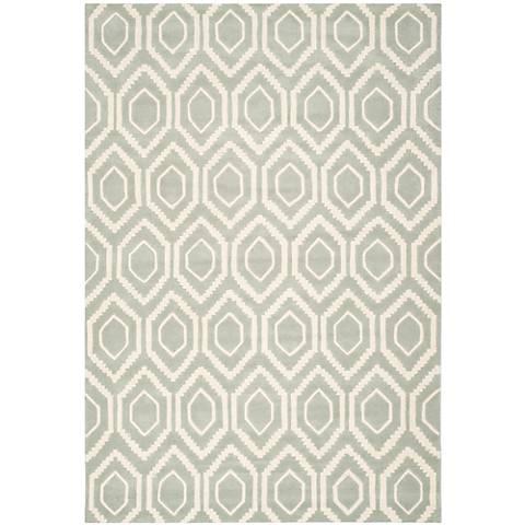 Safavieh Chatham CHT731E Grey/Ivory Wool Rug