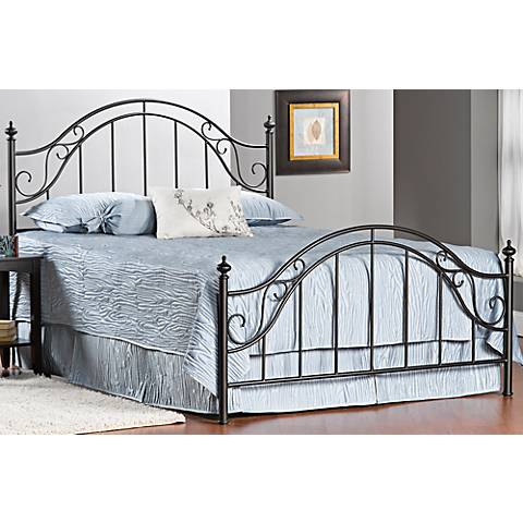 Hillsdale Clayton Matte Brown Bed