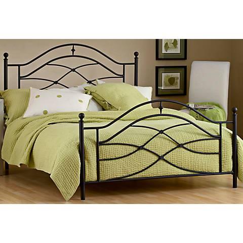 Hillsdale Cole Twinkle Black Bed