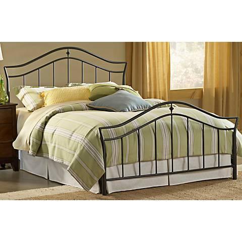 Hillsdale Imperial Twinkle Black Bed