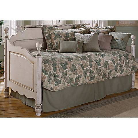Hillsdale Wilshire Antique White Trundle Daybed