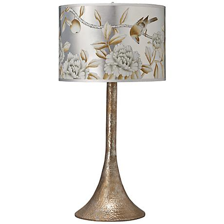 Jamie Young Hammered Metal Table Lamp