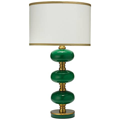 Jamie Young Stockholm Emerald Green Table Lamp