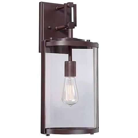 """Minka Ladera 18 1/2"""" High Alder Bronze Outdoor Wall Light"""