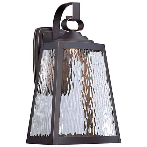 "Minka Talera 15 3/4"" High LED Bronze Outdoor Wall Light"