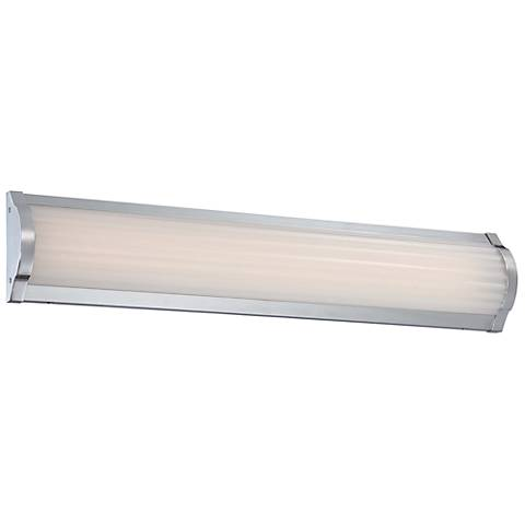 "George Kovacs Verin 24 1/4"" Wide LED Chrome Bath Light"