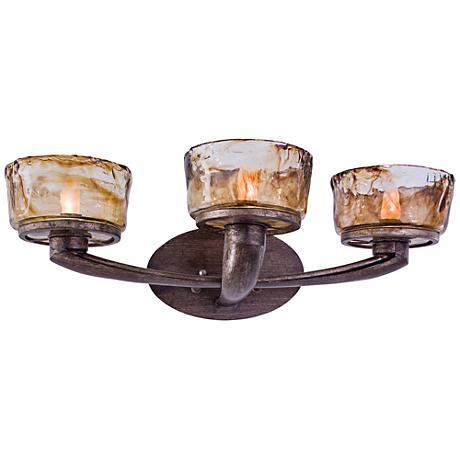 """Minka La Bohem 24"""" Wide Bronze Bath Light"""