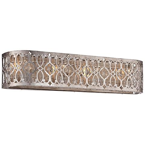 "Jessica McClintock Home Lucero 29 1/2"" Wide Gold Bath Light"