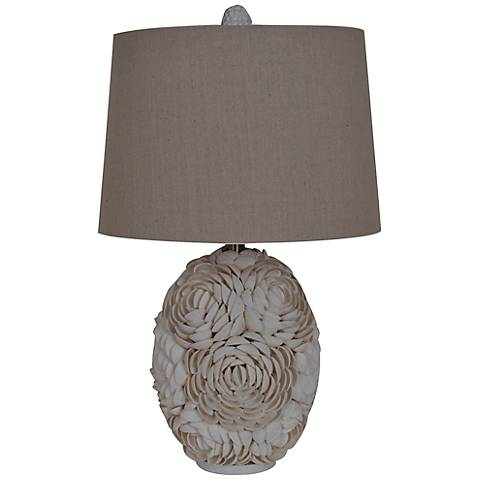 Crestview Collection Calypso Shell Table Lamp