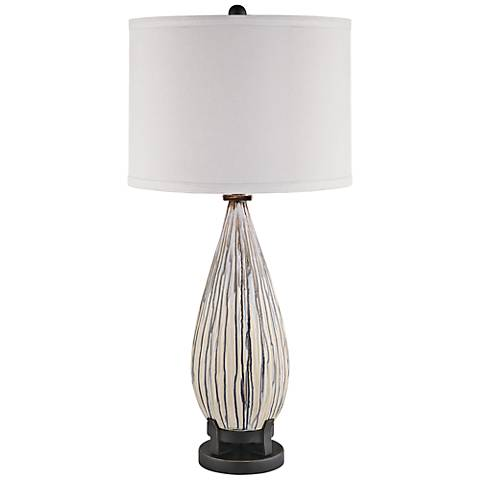 Crestview Collection Mason Ceramic Table Lamp