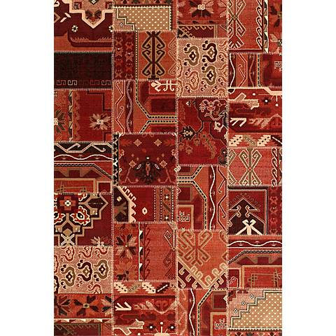 Shelby Baja Red 05930 Area Rug