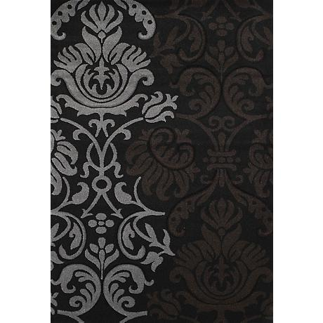 Townshend Replay Black 00970 Area Rug
